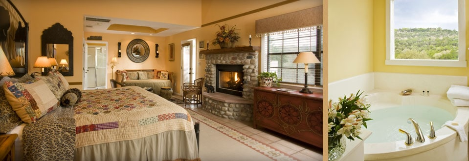 Texas hill country lodging blair house rooms and cottages for Bed and breakfast area riservata