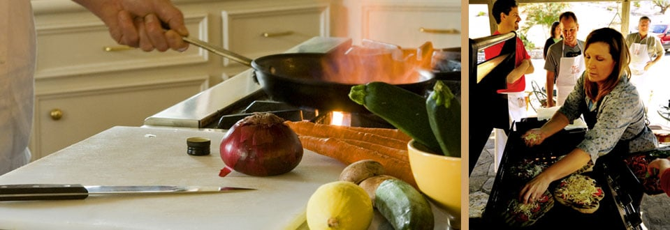 Southern Living Visits Blair House Inn Cooking School