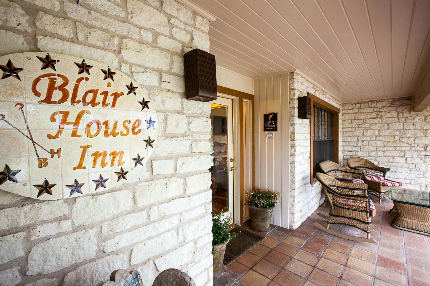Entrance of Blair House Inn
