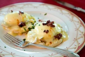 Breakfast Plate at Blair House Inn