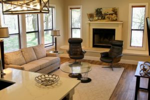 Wimberley Cottage Living Room